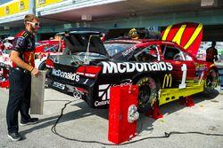 Car of Jamie McMurray, Chip Ganassi Racing Chevrolet