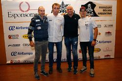Nani Roma, Toyoya Gazoo Racing, Xevi Pons, Ford South Racing ve Cristian España, Team Pedrega KTM