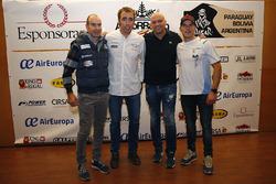 Nani Roma, Toyoya Gazoo Racing, Xevi Pons, Ford South Racing and Cristian España, Team Pedrega KTM
