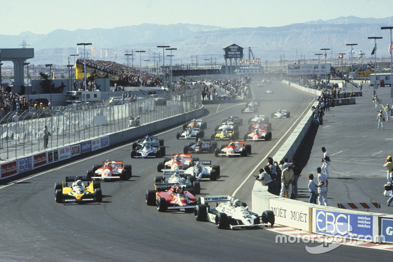 1981 e 1982 - EUA (Long Beach e Las Vegas)
