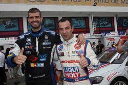 Dusan Borkovic, B3 Racing Team SEAT León SEQ; Davit Kajaia, Liqui Moly Team Engstler Volkswagen Golf