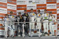 Juniorpodium: 1. #21 Mercedes-AMG Team Zakspeed, Mercedes-AMG GT3: Luca Stolz, Luca Ludwig, 2. #19 GRT Grasser Racing Team, Lamborghini Huracán GT3: Ezequiel Perez Companc, Mirko Bortolotti, 3. #48 Mercedes-AMG Team HTP Motorsport, Mercedes-AMG GT3: Indy Dontje, Marvin Kirchhöfer und #13 RWT Racing, Corvette C7 GT3-R: Sven Barth, Maximilian Hackländer