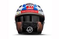 Helm von Romain Grosjean als Hommage an Nicky Hayden