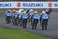 Suzuki Asian Challenge track action