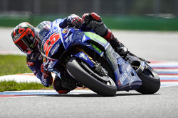 Maverick Viñales, Yamaha Factory Racing, mit neuer Verkleidung