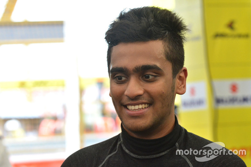 Nayan Chatterjee (Formula 4 South East Asia)