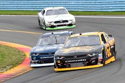 Brendan Gaughan, Richard Childress Racing Chevrolet, Brennan Poole, Chip Ganassi Racing Chevrolet, K