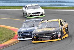 Brendan Gaughan, Richard Childress Racing Chevrolet, Brennan Poole, Chip Ganassi Racing Chevrolet, K