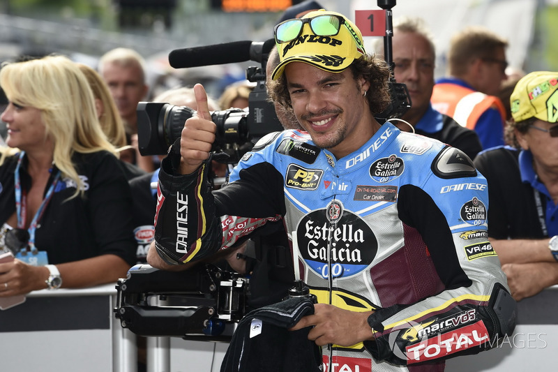 Second place Franco Morbidelli, Marc VDS after qualifying