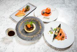 マクラーレン・ホンダ・スペシャルスイート/マクラーレンをイメージしたディナー