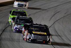 Myatt Snider, Kyle Busch Motorsports Toyota, John Hunter Nemechek, SWM-NEMCO Motorsports Chevrolet