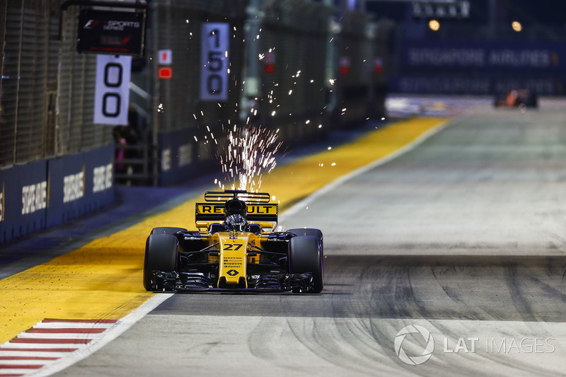 Hulkenberg the best of the rest in qualifying