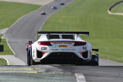 #93 RealTime Racing Acura NSX GT3: Peter Kox, Mark Wilkins