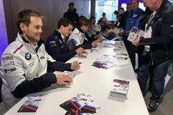 Tom Blomqvist, BMW Team RBM, BMW M4 DTM, Bruno Spengler, BMW Team RBM, BMW M4 DTM, Augusto Farfus, B