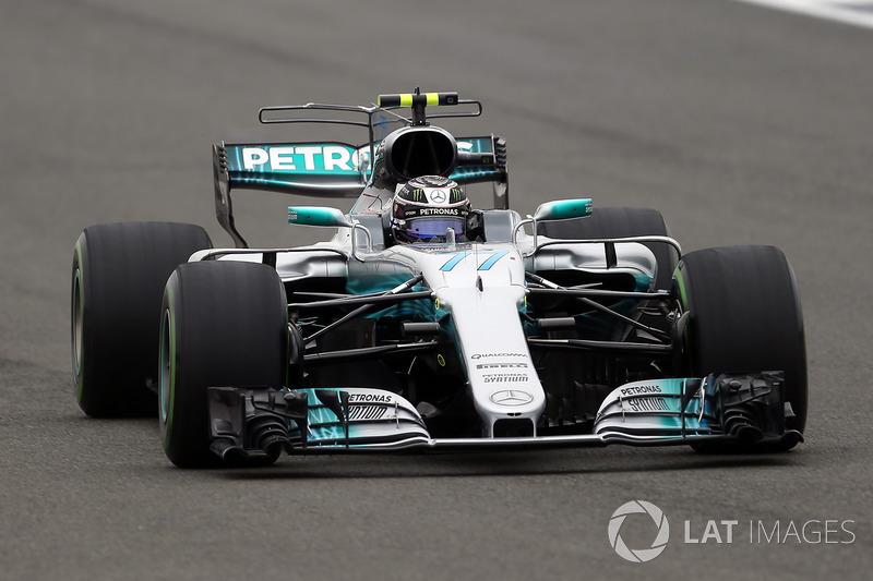2. Valtteri Bottas, Mercedes-Benz F1 W08