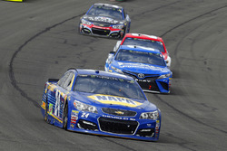 Chase Elliott, Hendrick Motorsports, Chevrolet; Matt Kenseth, Joe Gibbs Racing, Toyota