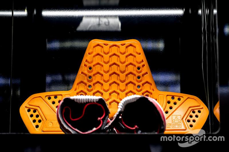 Une protection de Johann Zarco, Monster Yamaha Tech 3