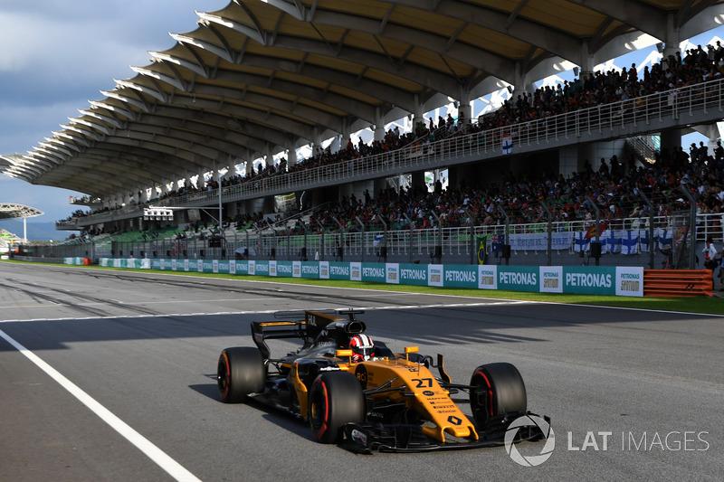 16. Nico Hülkenberg, Renault Sport F1 Team RS17