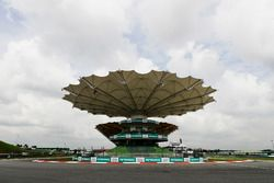 Laatste bocht Sepang Circuit detail