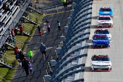 Blake Koch, Kaulig Racing Chevrolet, Elliott Sadler, JR Motorsports Chevrolet