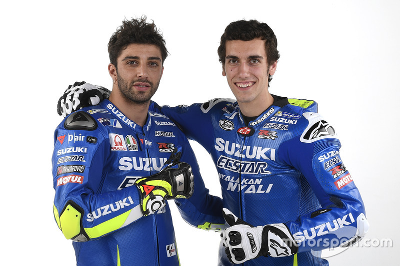 Andrea Iannone, Alex Rins, Team Suzuki Ecstar MotoGP