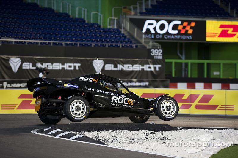 Petter Solberg pilote la ROC Car