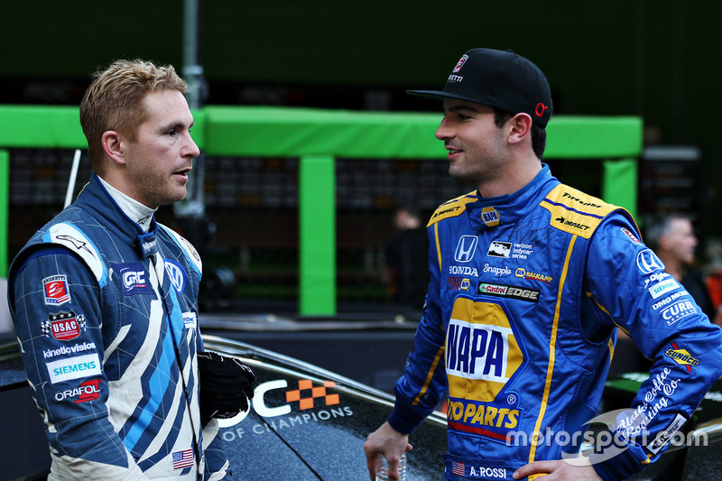 Scott Speed, Alexander Rossi