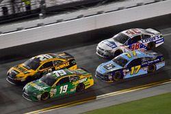 Daniel Suárez, Joe Gibbs Racing Toyota, Matt Kenseth, Joe Gibbs Racing Toyota, Ricky Stenhouse Jr.,