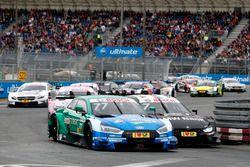 Loic Duval, Audi Sport Team Phoenix, Audi RS 5 DTM, Bruno Spengler, BMW Team RBM, BMW M4 DTM