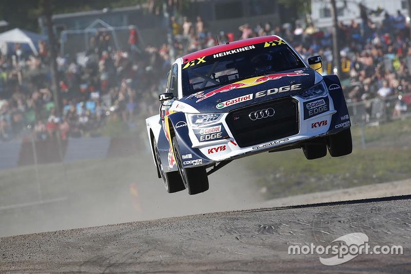 Toomas Heikkinen, EKS RX Audi S1