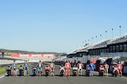 Los 9 ganadores, Jorge Lorenzo, Yamaha Factory Racing, Valentino Rossi, Yamaha Factory Racing, Jack