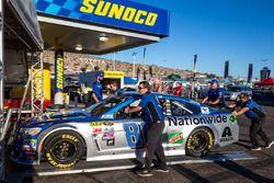 Technische Abnahme: Auto von Alex Bowman, Hendrick Motorsports, Chevrolet