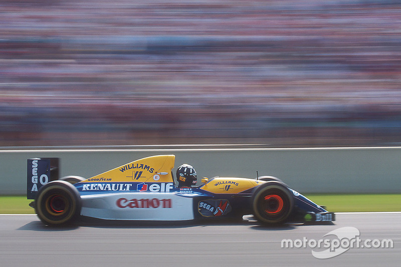 72: Damon Hill, Williams FW15C Renault
