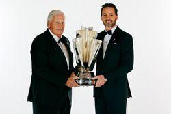 Champion Jimmie Johnson, Hendrick Motorsports Chevrolet and team owner Rick Hendrick