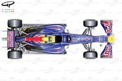 Red Bull RB8, вид сверху