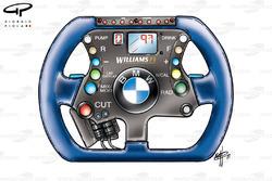 Volant de la Williams FW23