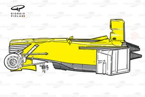 Jordan 199 1999 chassis side view