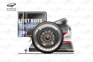 Minardi PS05 2005 rear-end side view