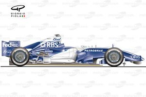 Williams FW28 side view
