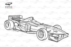 Minardi M197 1997 overview