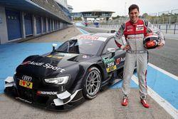 Loic Duval, Audi RS 5 DTM Test
