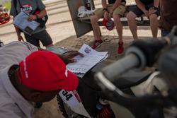 La moto de Gary Pretorius
