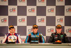 Conférence de presse : Dorian Boccolacci, Trident, Alessio Lorandi, Jenzer Motorsport, Niko Kari, Arden International