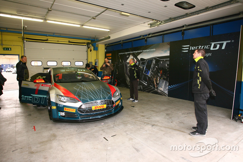 Lucas di Grassi tested Electric GT's