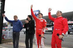 Mika Hakkinen, Giuliano Alesi, Jean Alesi
