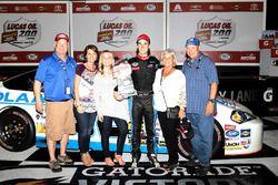 Race winner Austin Theriault, Chevrolet