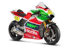 La moto di Aleix Espargaro, Aprilia Racing Team Gresini
