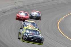 Matt Tifft, Joe Gibbs Racing Toyota, Jeb Burton, JGL Racing Toyota