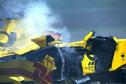 The crash of Takuma Sato, Jordan Honda
