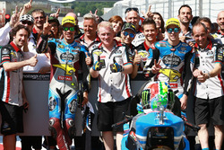 Franco Morbidelli, Marc VDS, Alex Marquez, Marc VDS after qualifying